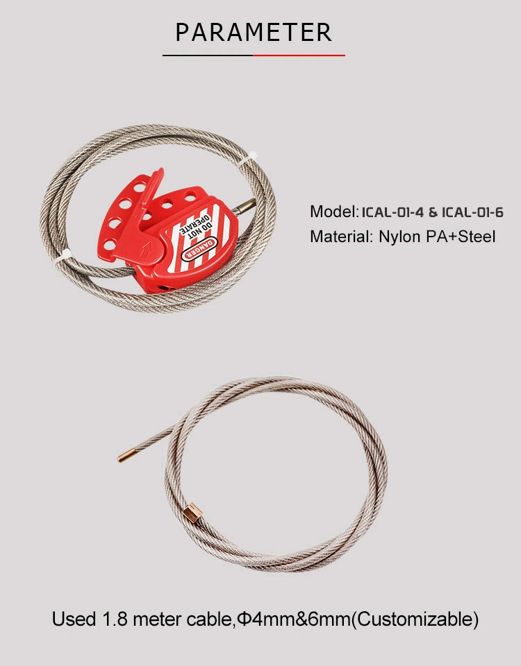 Adjustable Cable Lockout supplier in Bangladesh.