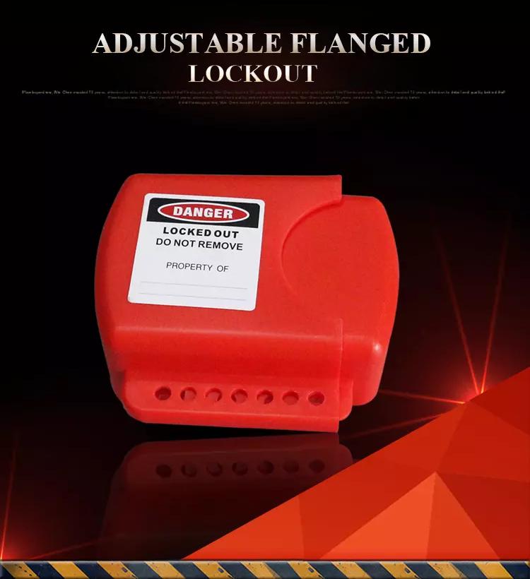 Adjustable Flanged Lockout