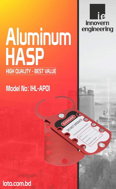Aluminum Hasp supplier in Bangladesh.