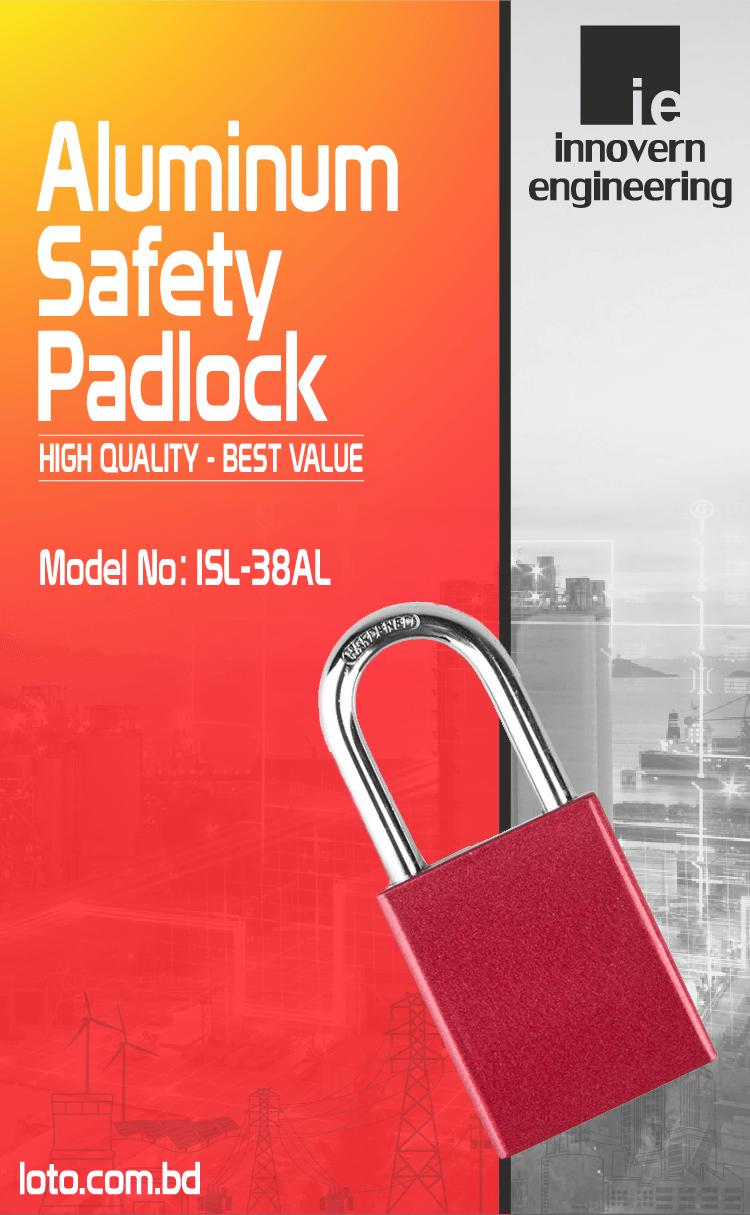 Aluminum Safety Padlock supplier in