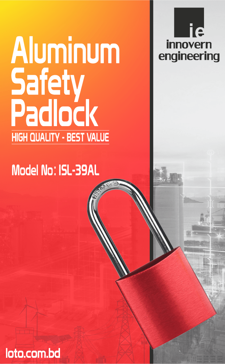 Aluminum Safety Padlock supplier in