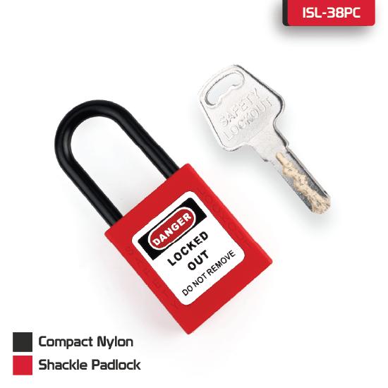 Compact Nylon Shackle Padlock supplier in Dhaka, Bangladesh
