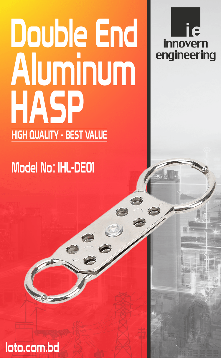 Double End Aluminum HASP supplier in Bangladesh.