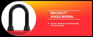 Dustproof Nylon Shackle Padlock supplier in Bangladesh.