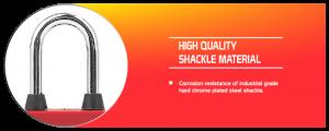 Dustproof Steel Shackle Padlock supplier in Dhaka, Bangladesh