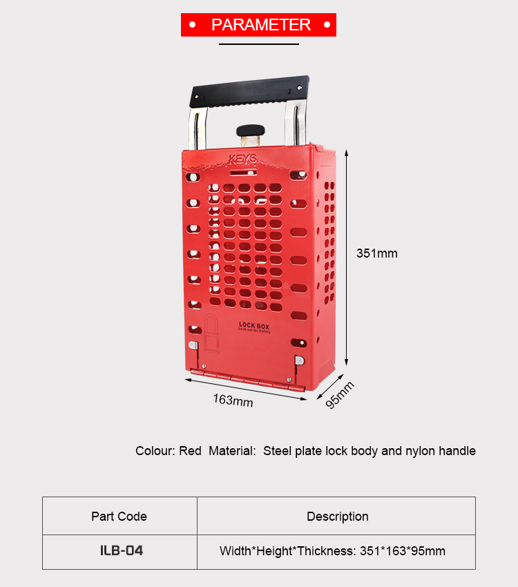 Group Safety Lockout Box Supplier in Bangladesh.