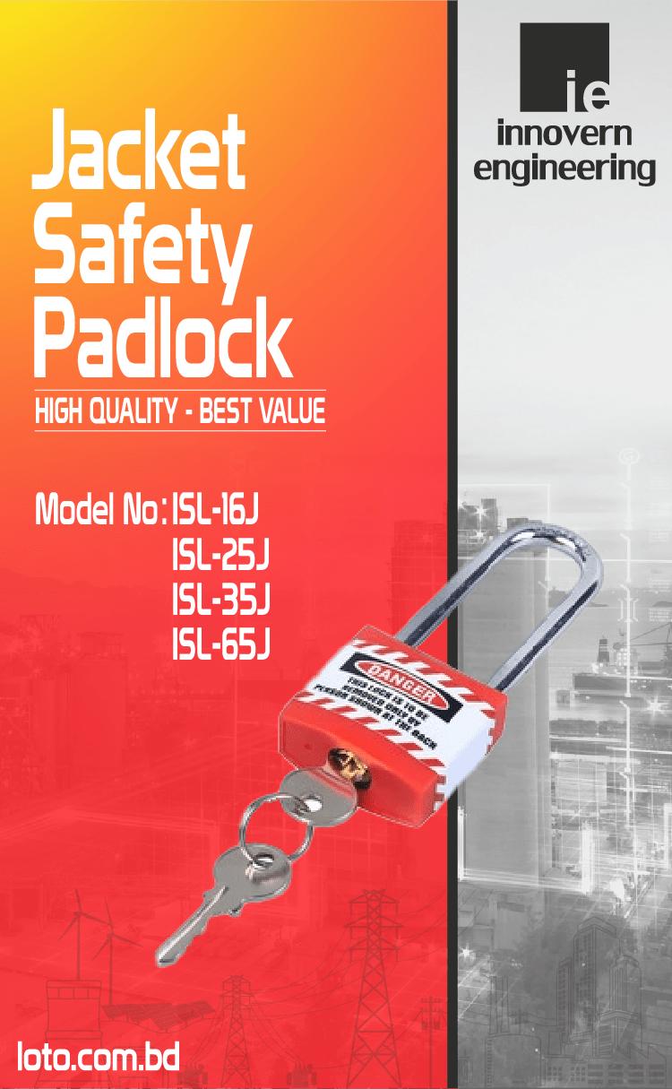 Jacket Safety Padlock supplier in Dhaka, Bangladesh