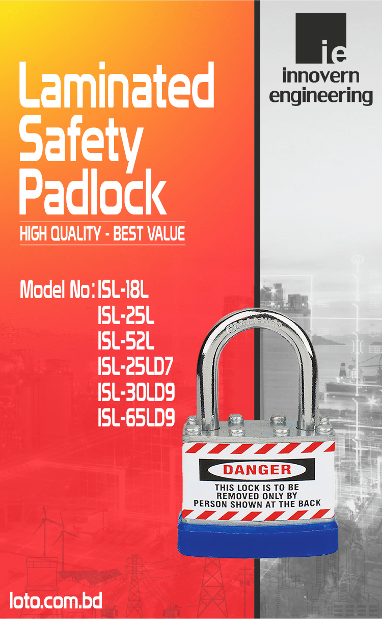 Laminated Safety Padlock supplier in Dhaka, Bangladesh