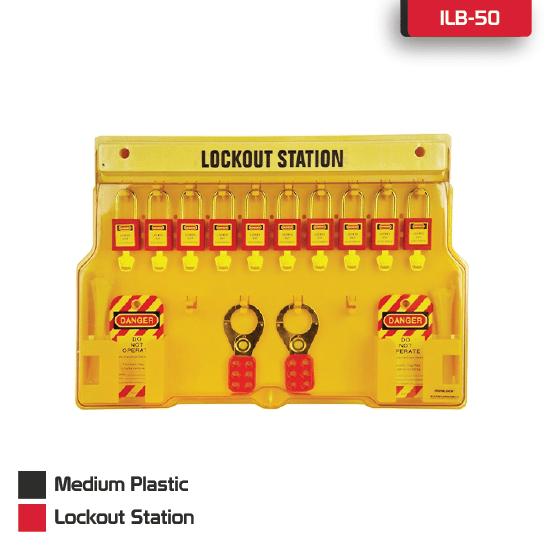 Medium Plastic Lockout Station Supplier in Bangladesh.