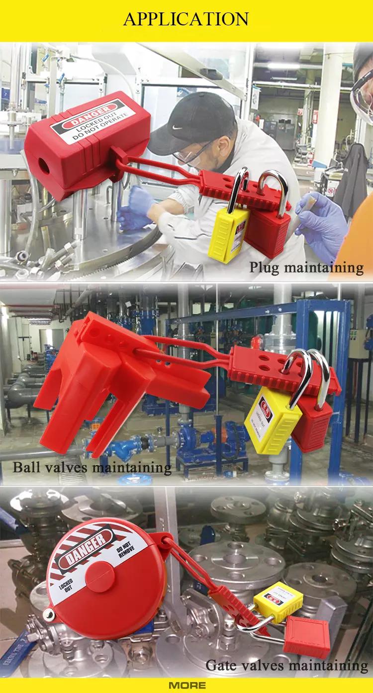 Nylon Lockout HASP supplier in Bangladesh.