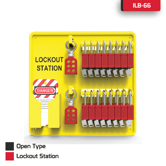 Open Type Lockout Station Supplier in Bangladesh.