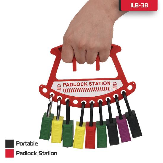 Portable Padlock Station Supplier in Bangladesh.