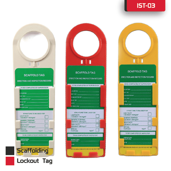 Scaffolding Lockout Tag supplier in Bangladesh.