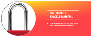 Steel Shackle Safety Padlock supplier in Dhaka, Bangladesh