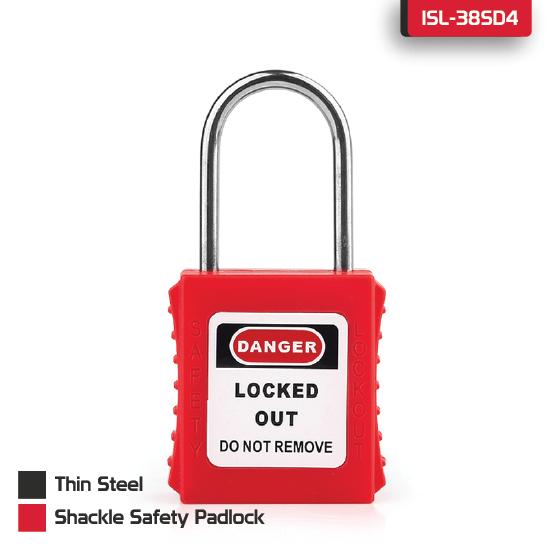 Thin Steel Shackle Safety Padlock supplier in Dhaka, Bangladesh