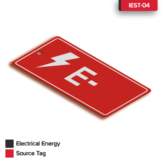 Electrical Energy Source Tag